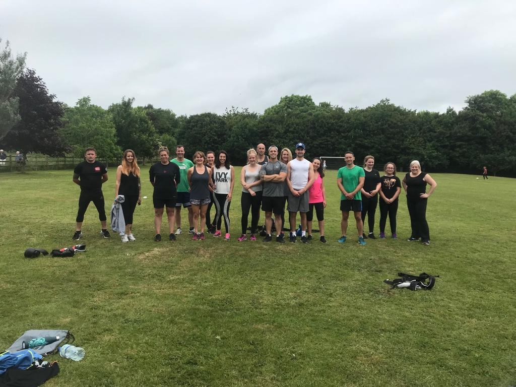 Charmouth Boot camp