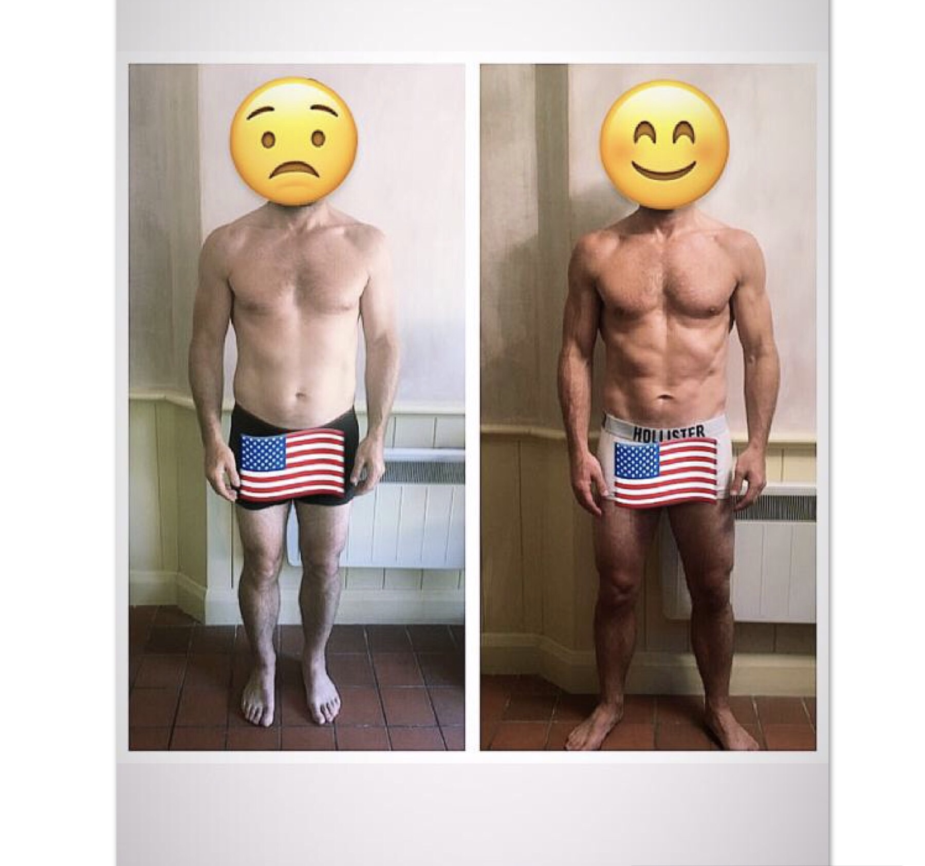 PT clients 6 week transformation