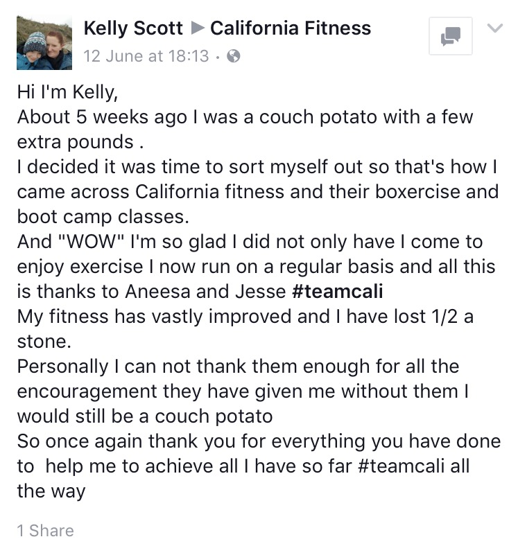 kelly success story