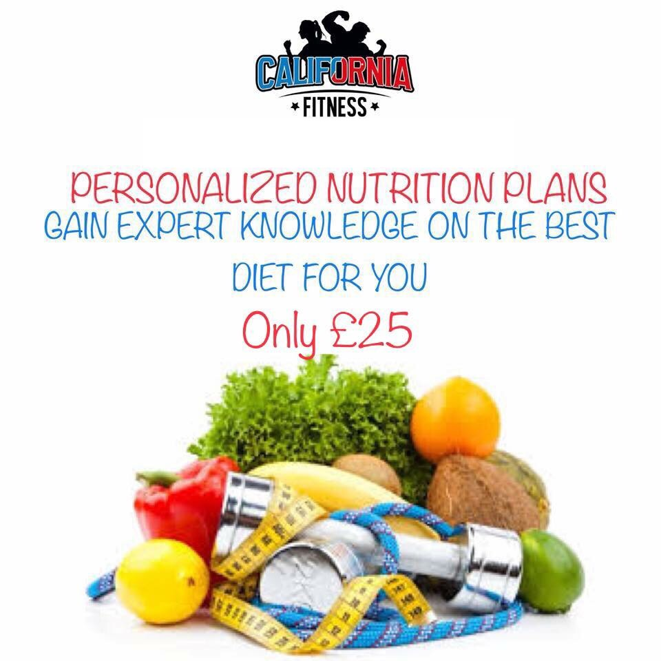 Personalised nutrition plans