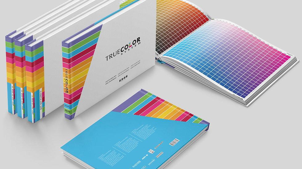 Coleção True Color System - 4 Volumes, 7 tipos de papéis e CD