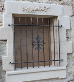 Entourage de fenêtre et grille ebn fer
