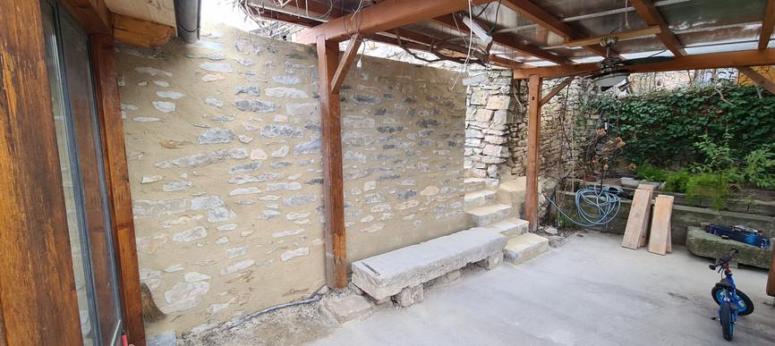 Reconstruction complète mur