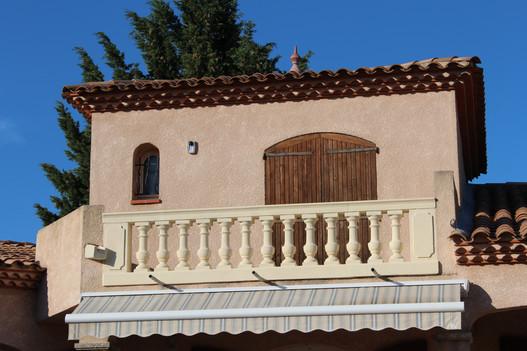 Rénovation balcon en Estaillade