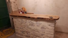 Bar pierre chaux et bois