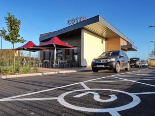 Costa Tollgate Retail Park