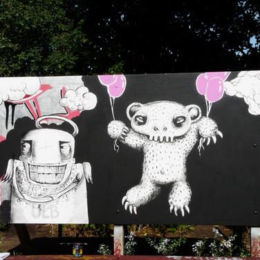 street painting, Germany