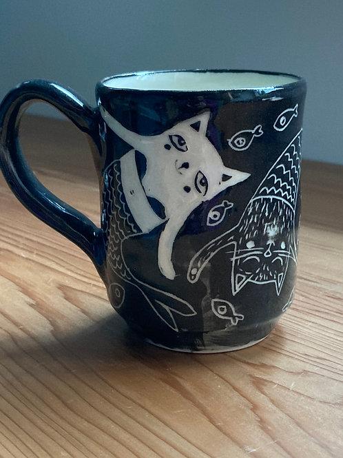 large mercats mug