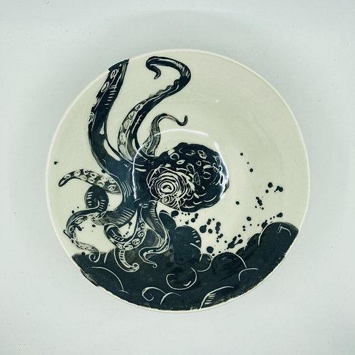 octopus large bowl