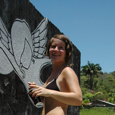 street painting, Costa Rica