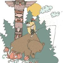 west coast illustration