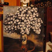 flower, acrylic
