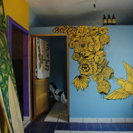 room mural, Mexico