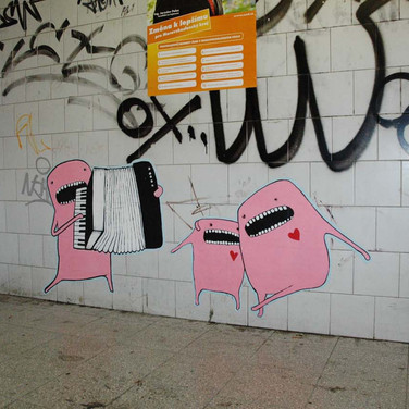 street painting, CZ