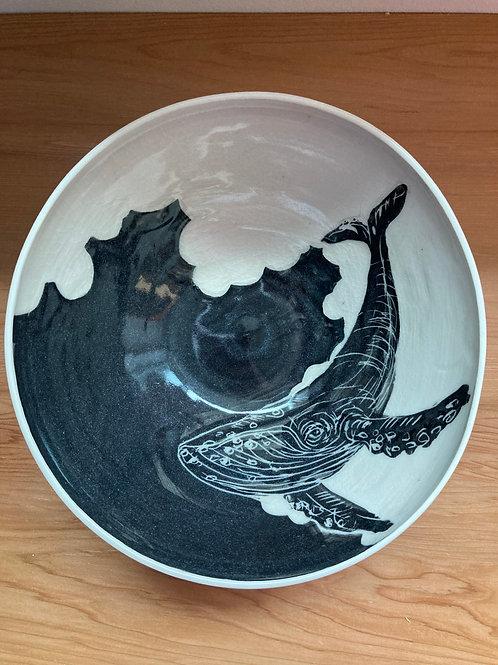whale large bowl