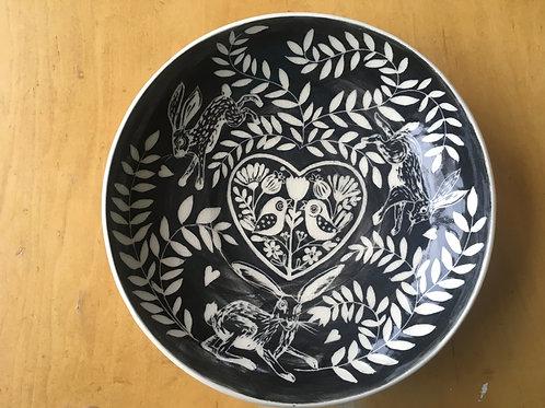 Large porcelain bowl