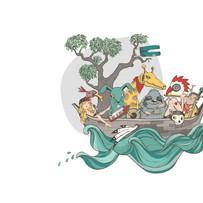 marin illustration