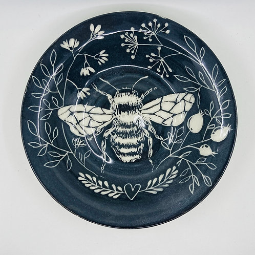 bee large plate/bowl
