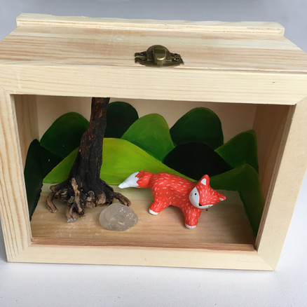 shadowbox fox