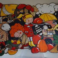 seasons mural