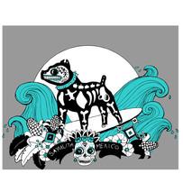 t-shirt design, sayulita, mexico