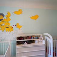room mural, Victoria BC