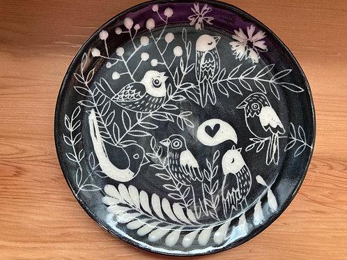 songbirds plate