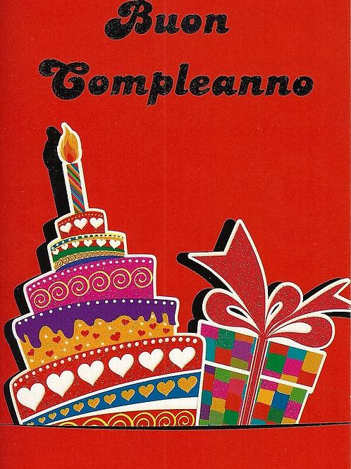 BuonCompleanno Torta e Pacchetto BC 169