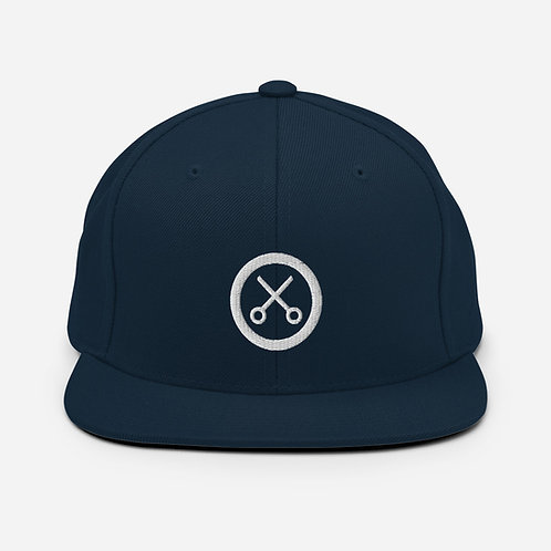 The Barberstore Snapback Hat