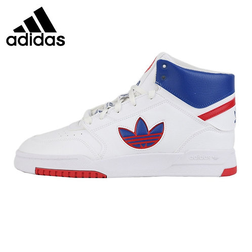 Adidas Originals DROP STEP XL Men's Modern Barbershop Hi Top Trainers Sneakers
