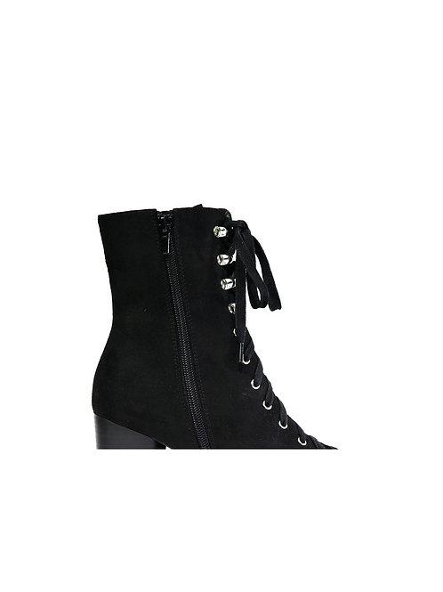 Ladies Stylish Salon Black Boots