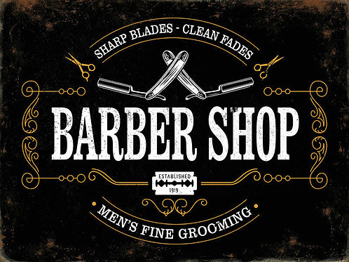 Barbershop Wall Posters