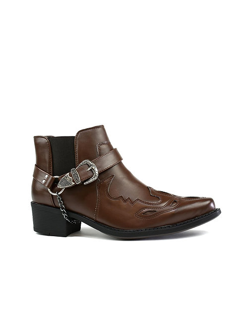 Archie Low Top Cowboy Boot Brown