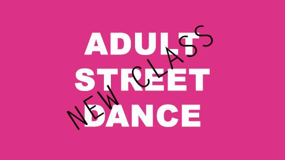 Adult Street Dance (4 Classes)