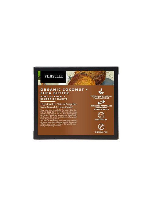 Organic Coconut + Shea Butter Natural Soap Bar