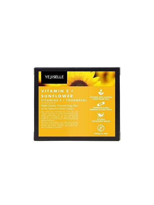 Vitamin E + Sunflower Natural Soap Bar