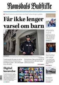Romsdals Budstikke tirsdag 31.mars 2020.