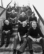 Noen av gutta før konsert i Praha 2019.j