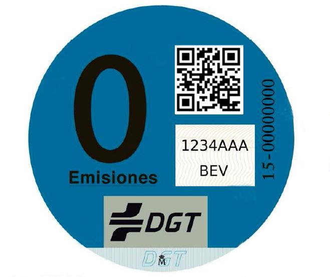 Distintivo Medioambiental DGT