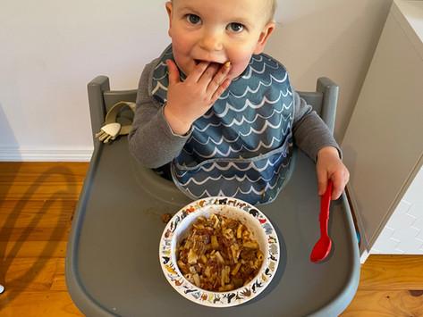 Beef and veg ragu with pasta