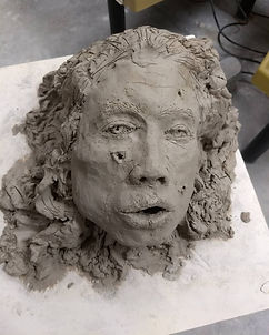 Severed Head (Self-Portrait)