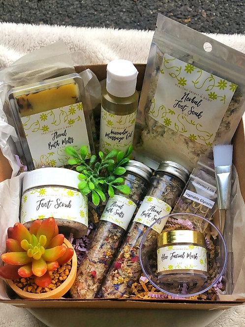 Plant-Based Self-Care Spa Kit