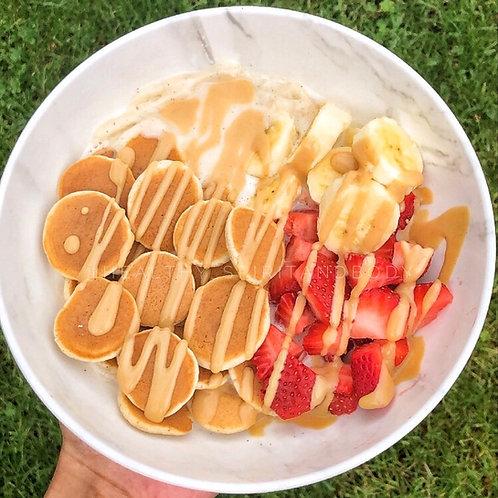 Vegan Pancake Smoothie Bowl
