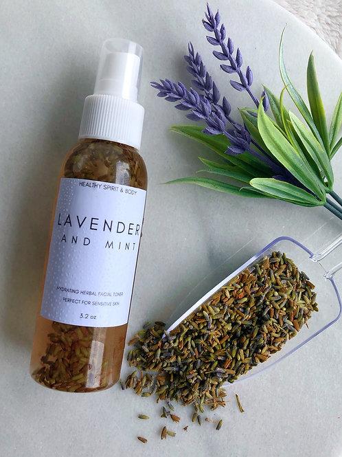Lavender & Mint Herbal Facial Toner