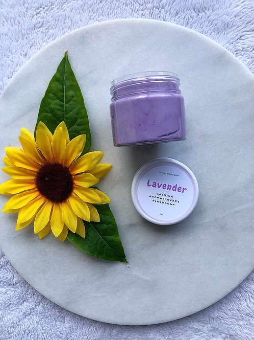Relaxing Aromatherapy Play Dough - Lavender