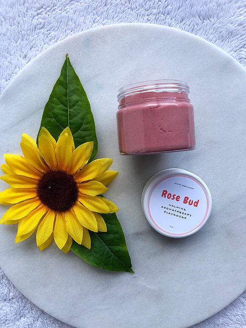 Relaxing Aromatherapy Play Dough - Rose Bud