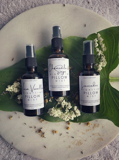 Nighttime Pillow Mists Trio