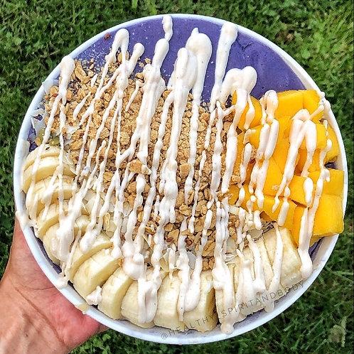 Vegan Blueberries & Cream Smoothie Bowl Recipe