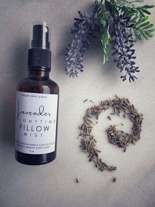 Calming Lavender Nighttime Pillow Mist