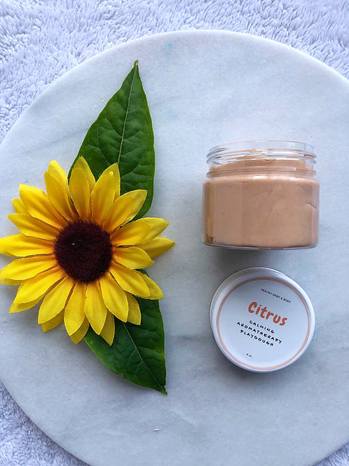 Relaxing Aromatherapy Play Dough - Citrus